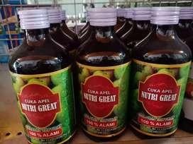 Ready Cuka Apel Nutri Great Isi 300ml. Herbal
