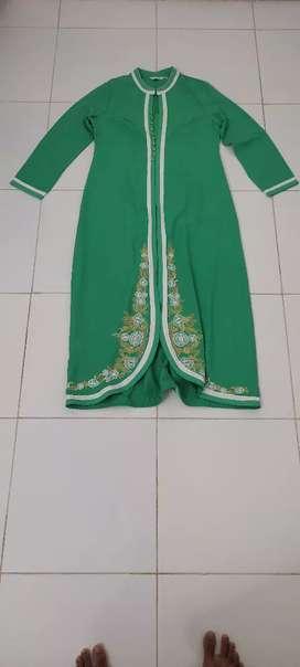 Gamis hijau preloved