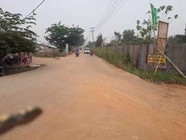 Tanah kavlingan dekat perumahan dan jalan As