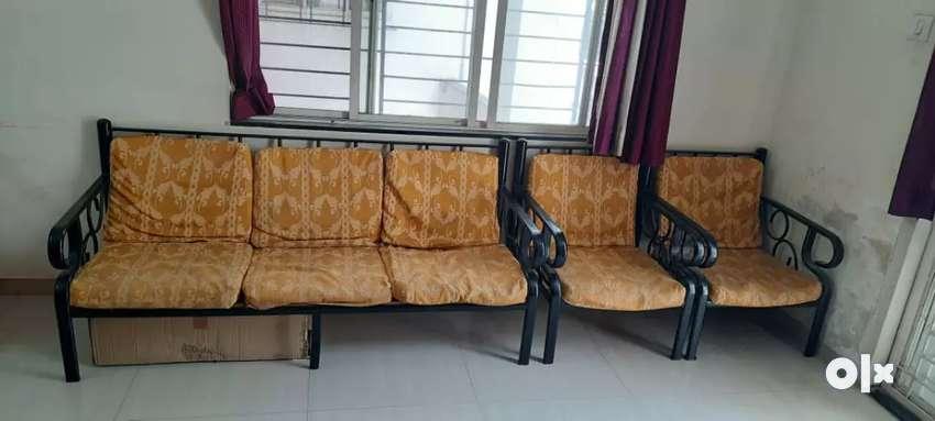 Metal black Sofa