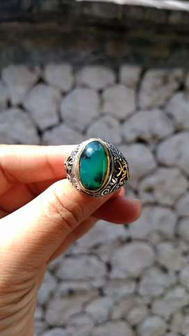 Cincin Bacan Palamea kristal totol