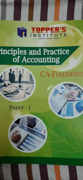 Principles and Practice of Accounting CA FOUNDATION