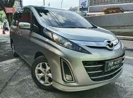 Mazda Biante 2.0L A/T Tahun 2012 Warna Silver Metalik, Low Km istimewa