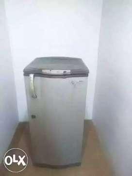 Whirlpool single door grey colour refrigerator