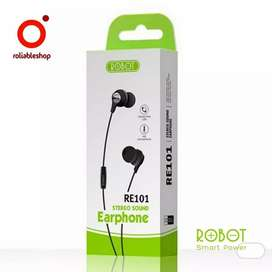 Special -  Robot - Inclined Ear HD Speaker Stereo Earphone - RE101
