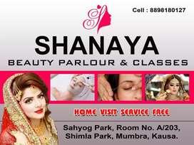 Shanaya beauty parlor & classes