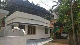 2.25 cents 700 sqft 2bhk new independent house nr Chottanikkara