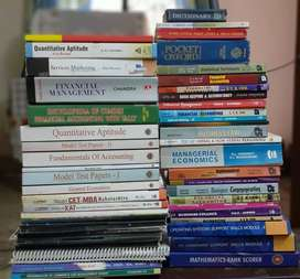 Mix books mostly accounting