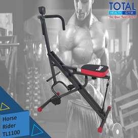 Alat fitness Home squat Horse rider TL 1100 Murah multifungsi gym