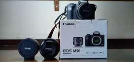Mirrorless Canon EOS M50