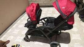 Joie double stroller (stroler duo)