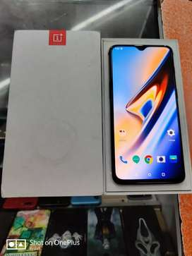 OnePlus 6T (8+128) with full box kit in perfect condition.