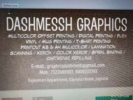Dtp designer required for shop in jugsalai