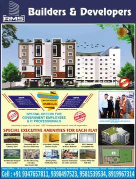 Semi furnished super delux flats at sayeedabad colony