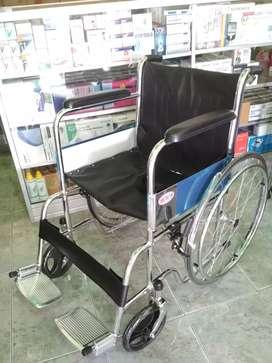 Kursi roda standar crome new