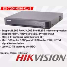 DVR HIKVISION DS-7204HQHI-K1/E 4CH up to 4MP