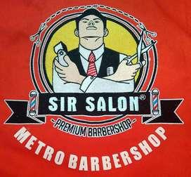 Kasir Sir Salon Metro Barbershop di Polda Metro Jaya/Semanggi/Jakarta
