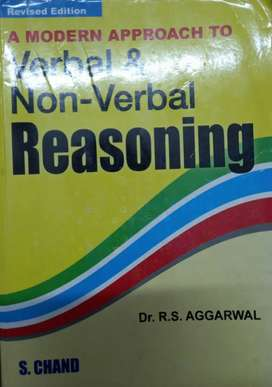 A Modern Approch to Verbal and Non Verbal Reasoning- RS Aggarwal