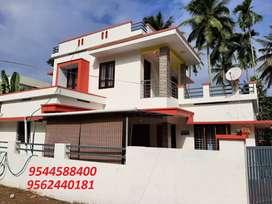 7 cent plot with 2200 sq.ft 5 BHK house in pezhumpuzha