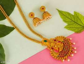Woman antique fashion jewelry