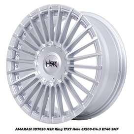 JUAL VELG AMARASI JD7020 HSR R17X7 H8X100-114,3 ET40 SMF