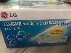 Cd recorder and dvd rom player