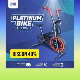 sepeda statis platinum bike total fitnes CT-87