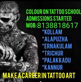 Any one want to create a awsome career in tattoo art please contact us