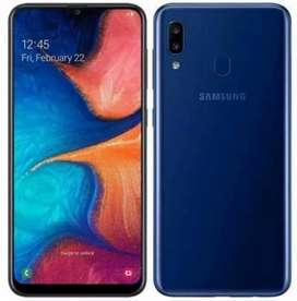 Samsung Galaxy A20 Blue (32GB) Full Warranty 1 month Used