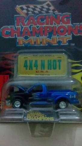 Diecast ford f150 biru 4x4/hot usa(88)