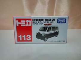 Tomica 113 suzuki every police car