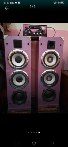 Super Bass SpeakerS Dual