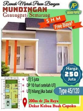 Rumah pesen bangun murah gunung pati Semarang