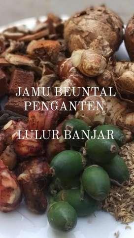Jamu Untalan Penganten HALAL LPPOM MUI Lulurbanjar/Lulur Banjar