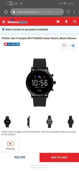 Fossil gen 5 smart watch brand new unused