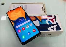 Samsung galaxy A20 3gb ram 32gb rom mobile for sell in good condition