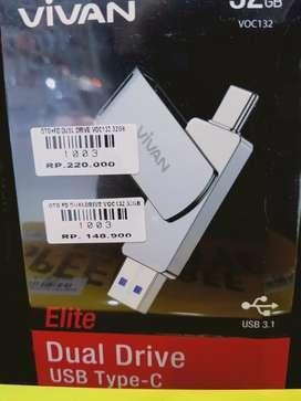 Otg + Fd dual drive VOC 32 gb