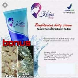 Body serum pemutih bdan,bisa dikirim ke seluruh indonesia