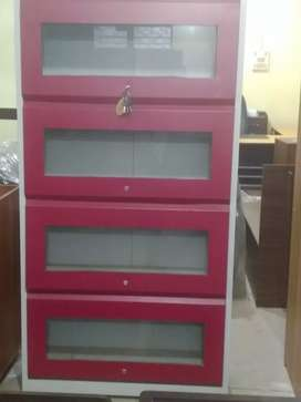 Bookcase( pushing type) 4 door