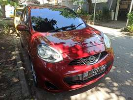 Nissan New March 1.2cc Matic 2015 Marun Metalik