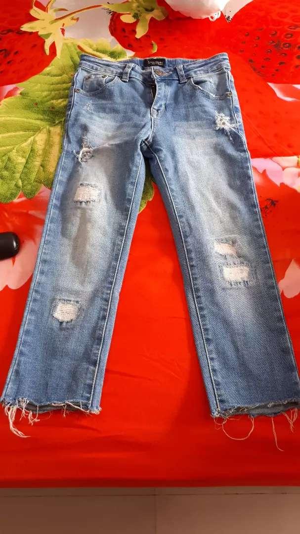 Celana Ripped jeans panjang anak