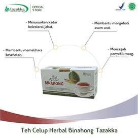 obat herbal teh binahong original tazakka isi 20 kantong teh celup
