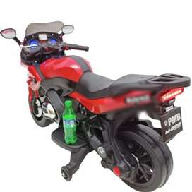 Motor Mainan Anak Ninja / Motor Mainan Pakai Aki / PMB M688 - Merah