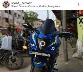 Suzuki Gixxer SF FI Fully modified