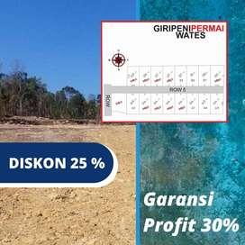 Beli Tanah Kavling SHM-P Area Jogja Barat, Mumpung Masih Murah