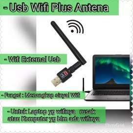 Usb Wifi Antena Wifi external Laptop dan PC Penangkap sinyal Wifi