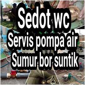 Tukang Sumur bor/ sumur suntik/servis pompa air/sedot wc jogja