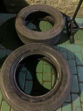 Ban 2 biji Bridgestone Dueler HT 265/65/17 60%Buat fortuner dan Pajero
