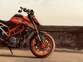 Duke 390 orange color