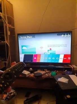 "Smart TV LG 43"" UH650T UHD 4K Web OS 3"